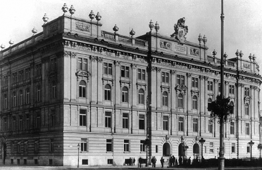 1907-1909 House of Industry, Vienna